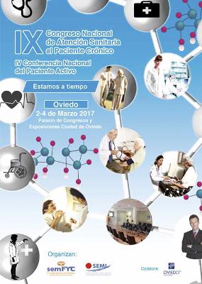 logo IX Congreso Paciente Crónico 2017
