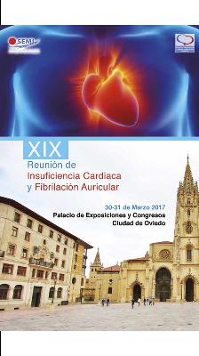 logo XIX Reunión de Insuficiencia Cardiaca y Fibrilación Auricular