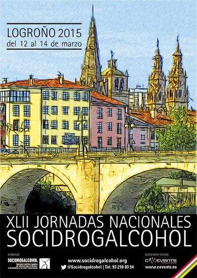 logo XLII Jornadas Nacionales Socidrogalcohol 2015
