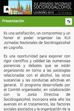 XLII Jornadas Nacionales Socidrogalcohol 2015 2
