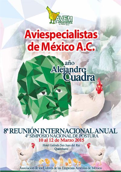 logo 8a Reunión Internacional Anual de los Aviespecialistas de México