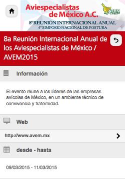 8a Reunión Internacional Anual de los Aviespecialistas de México 2