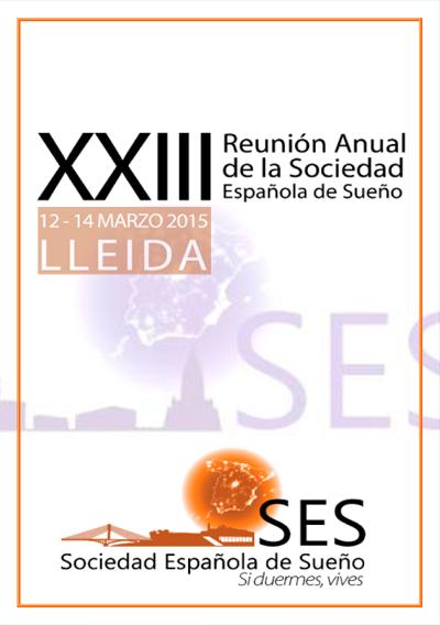logo XXIII Reunion Anual de la Sociedad Española del Sueño