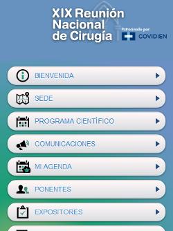 XIX REUNIÓN NACIONAL DE CIRUGÍA 1