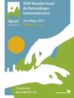 logo XXXV Reunión Anual de Dermatólogos Latinoamericanos