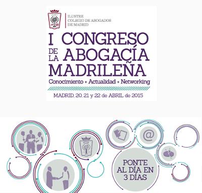 logo I Congreso de la Abogacía Madrileña