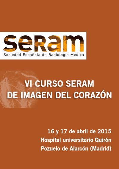 logo VI Curso SERAM de Imagen del Corazón