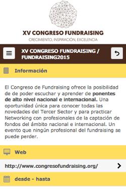 XV Congreso Fundraising 2