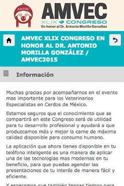 XLIX CONGRESO AMVEC 2015 2
