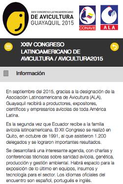 XXIV CONGRESO LATINOAMERICANO DE AVICULTURA 2