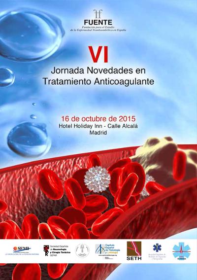 logo VI Jornada Novedades en Tratamiento Anticoagulante 2015