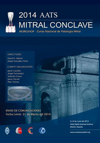 logo Mitral Cónclave Workshop - Curso Nacional de Patología Mitral