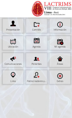 VIII LACTRIMS 2014 (Congreso Latinoamericano de Esclerosis Múltiple) 1