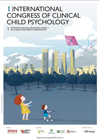 logo I Congreso Internacional de Psicología Clínica con Niños y Adolescentes