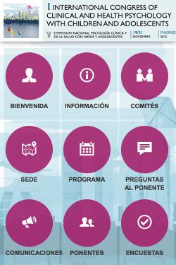 I Congreso Internacional de Psicología Clínica con Niños y Adolescentes 1
