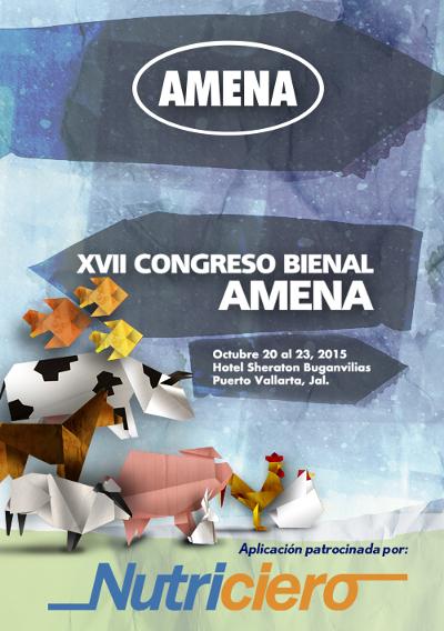 logo XVII CONGRESO BIENAL AMENA 2015