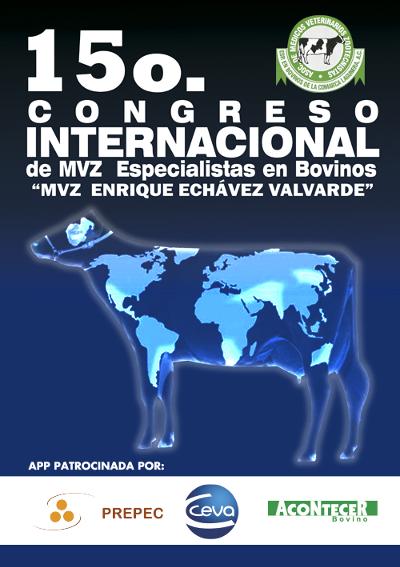 logo 15º Congreso Internacional de MVZ Especialistas en Bovinos 2015