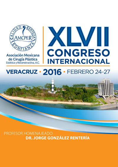 logo XLVII Congreso Internacional de la AMCPER