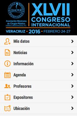 XLVII Congreso Internacional de la AMCPER 1