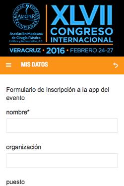XLVII Congreso Internacional de la AMCPER 2