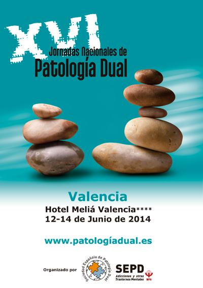 logo XVI Jornadas Nacionales de Patología Dual