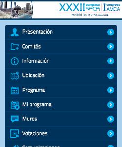 XXXII Congreso de la Sociedad Española de Calidad Asistencial (SECA) y I Congreso de la Asociación Madrileña de Calidad Asistencial (AMCA) 1