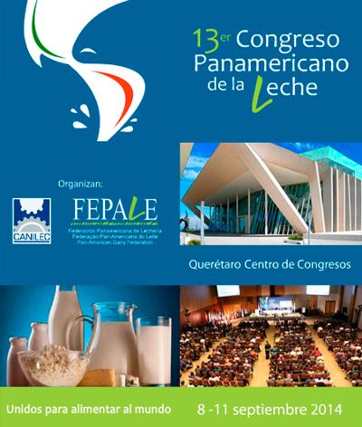 logo 13er Congreso Panamericano de la Leche