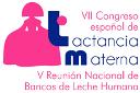 logo VII Congreso Español de Lactancia Materna y la 5ª Reunión de la Asociación de Bancos de Leche Humana