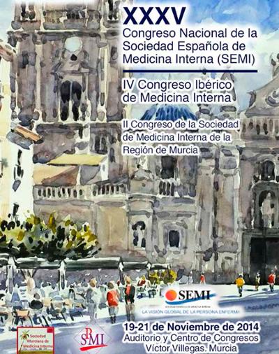 logo XXXV Congreso Nacional de la Sociedad Española de Medicina Interna (SEMI)