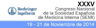 XXXV Congreso Nacional de la Sociedad Española de Medicina Interna (SEMI)