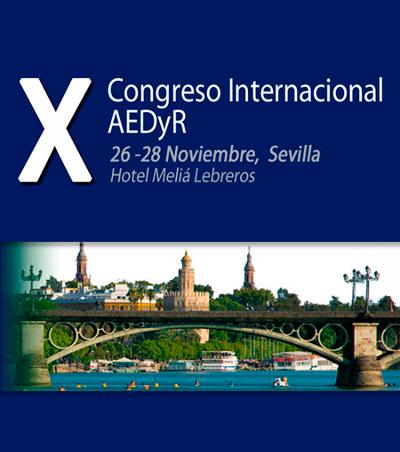 logo AEDyR | X Congreso Internacional