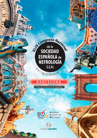 logo XLIV Congreso de la Sociedad Española de Nefrología (S.E.N.)