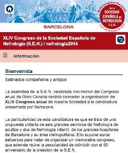 XLIV Congreso de la Sociedad Española de Nefrología (S.E.N.) 2