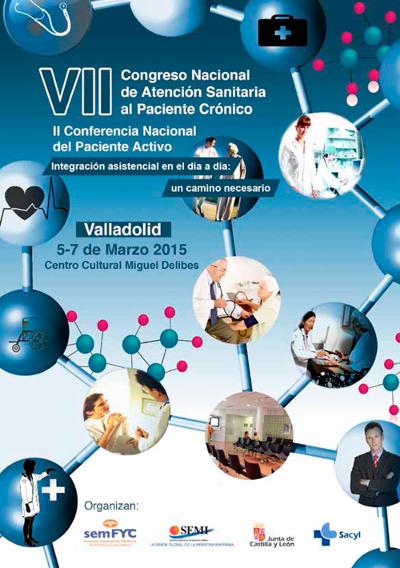 logo VII Congreso Nacional de Atención Sanitaria al Paciente Crónico 2015