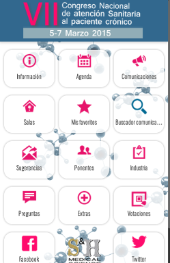 VII Congreso Nacional de Atención Sanitaria al Paciente Crónico 2015 1