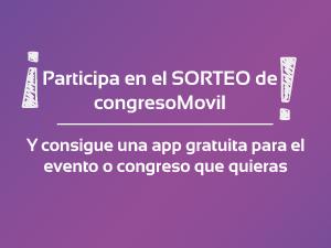 Participa en el sorteo de congresoMovil