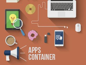 Apps container