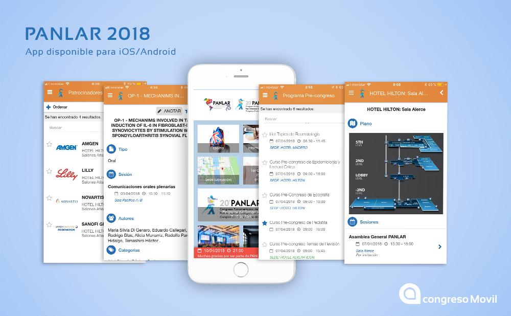 App para el Congreso PANLAR 2018