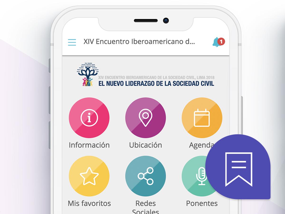 Apps personalizadas para eventos y congresos