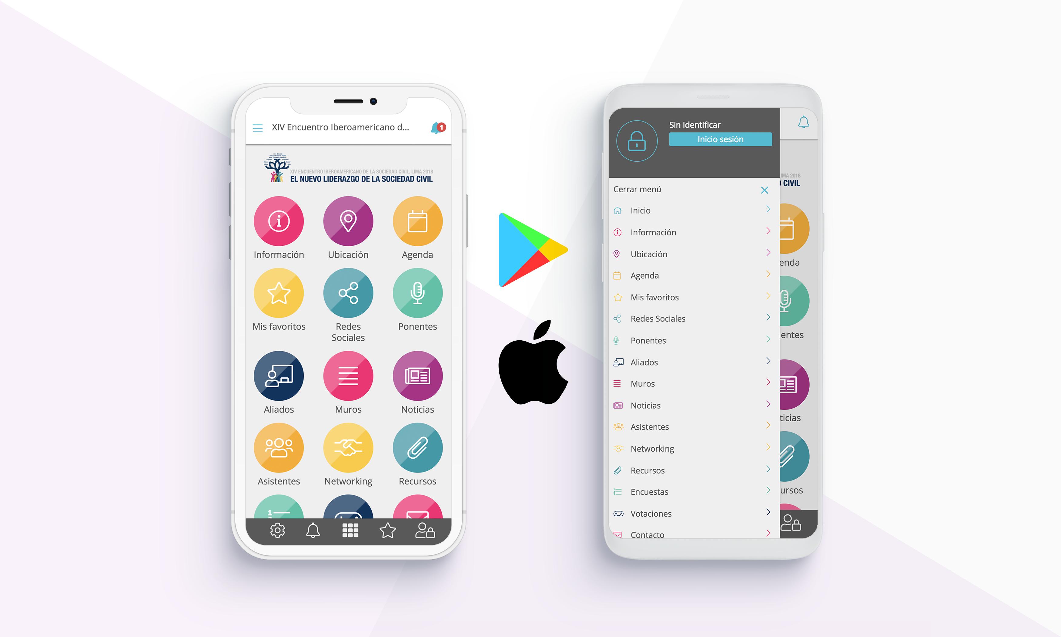 app personalizada para eventos